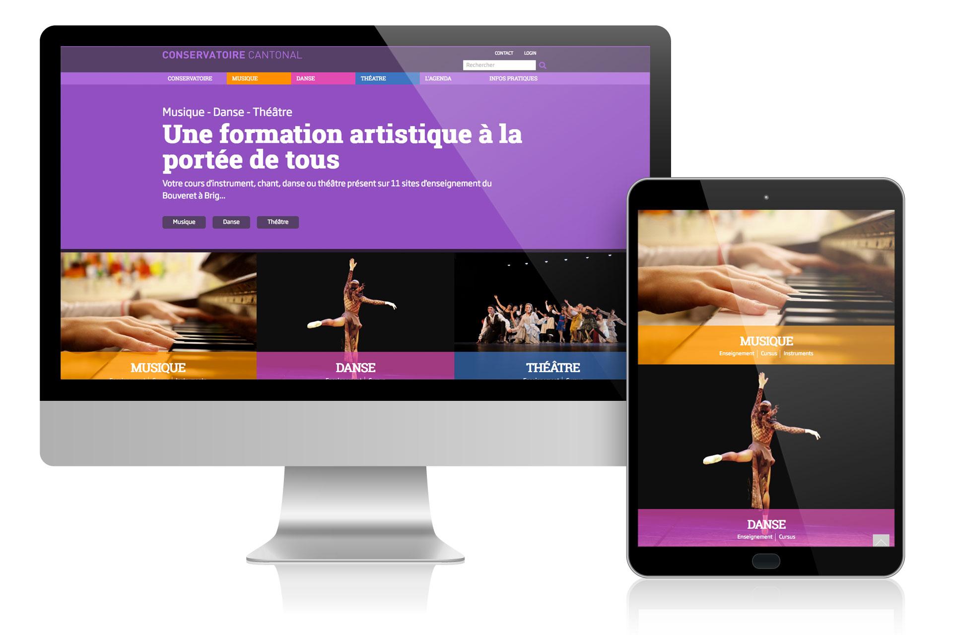Open website